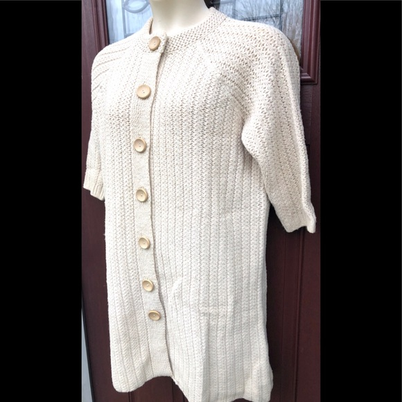 Vintage May Claire Cottagecore Cardigan Sweater